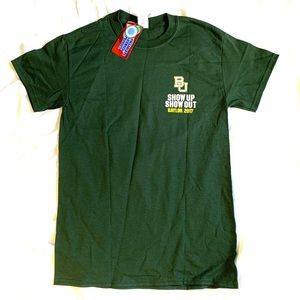 Baylor Bears 2017 Schedule T-shirt NWT Men's Small